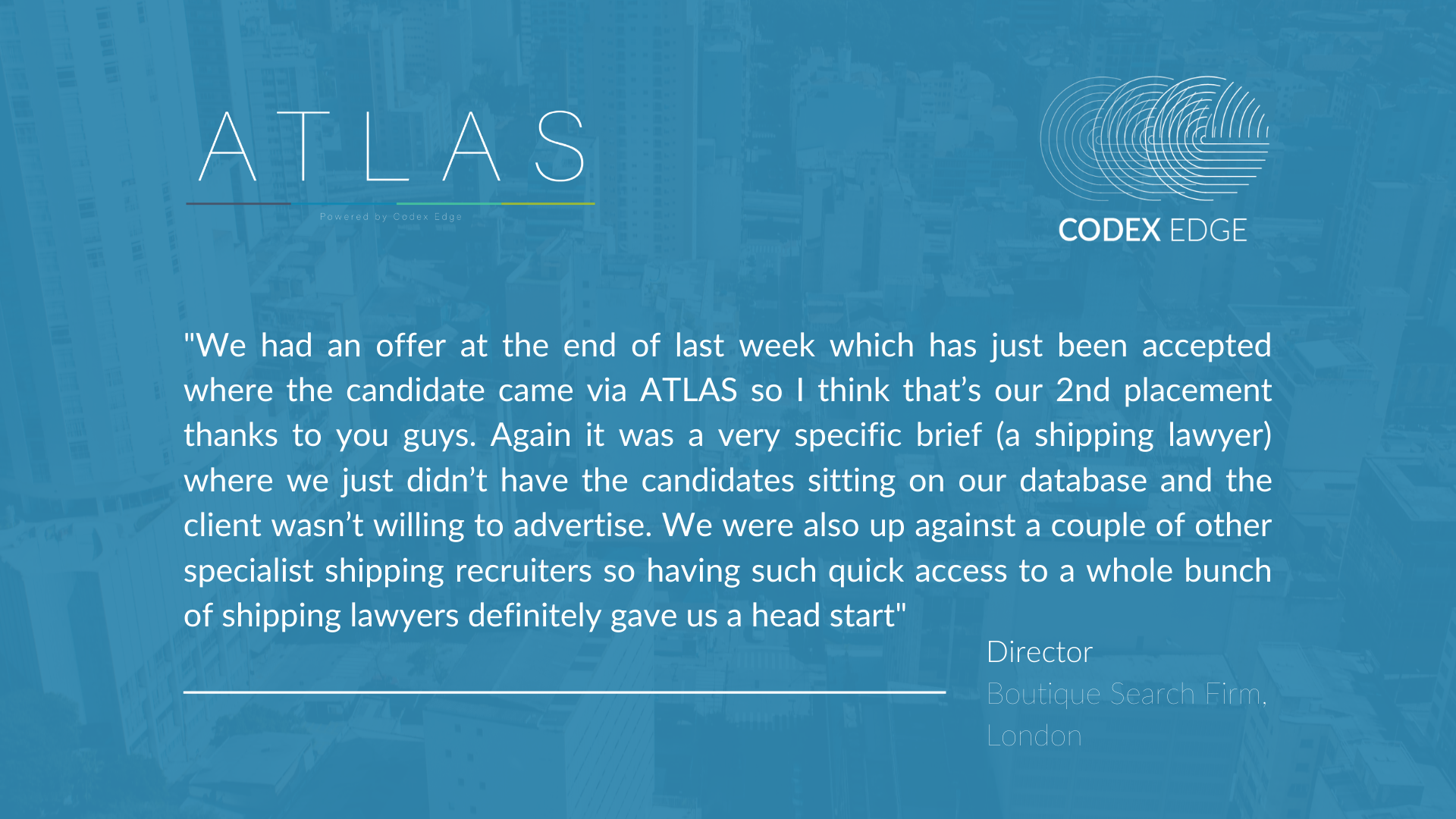 Atlas testimonials for Graham 3