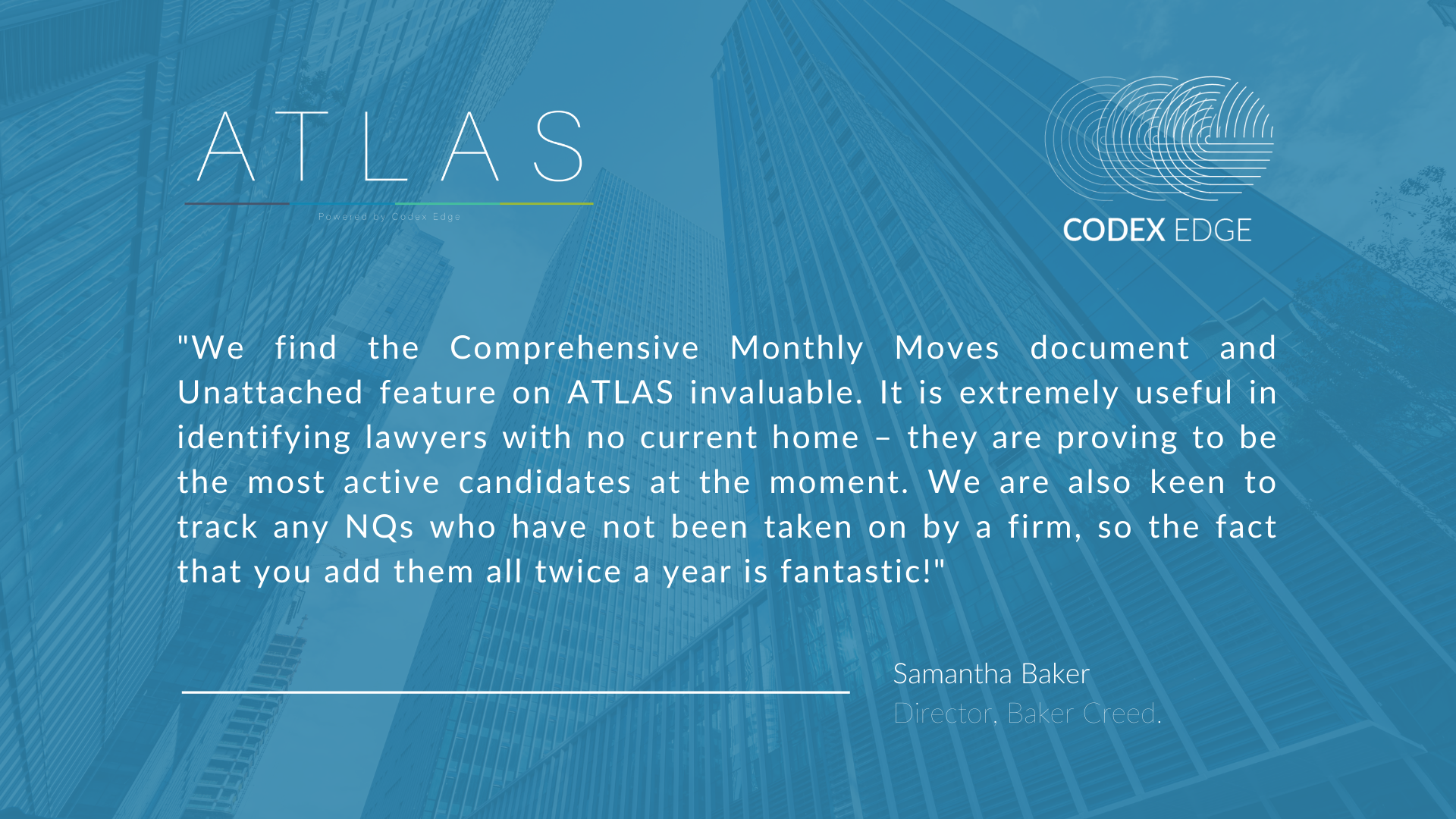 Atlas testimonials for Graham 17